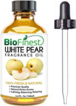 Biofinest White Pear Fragrance Oil - 100% Pure Natural Fruit - For Home Aromatherapy, Essential Oil Diffuser, Air Refreshe...