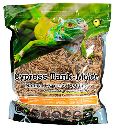 Price comparison product image Galapagos (05054) Cypress Tank Mulch Forest Floor Bedding,  8-Quart