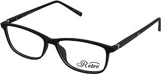 RETRO Unisex-adult Spectacle Frames Rectangular 5204 M.Black/Brown