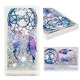 Sony Xperia L2 Phone Case, Lyzwn Cute Glitter Liquid