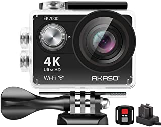 AKASO EK7000 Cámara Video Profesional, Ultra HD 4K, 60 FPS,