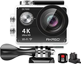AKASO EK7000 4K WIFI اکشن بازی اکشن Ultra HD دوربین فیلمبرداری ضد آب DV 12MP 170 درجه زاویه گسترده