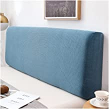 Bed Headboard Cover All Inclusive Dustproof Stretch Bed Head Protector Cover Solid Color Bedroom Decoration Washable Furni...