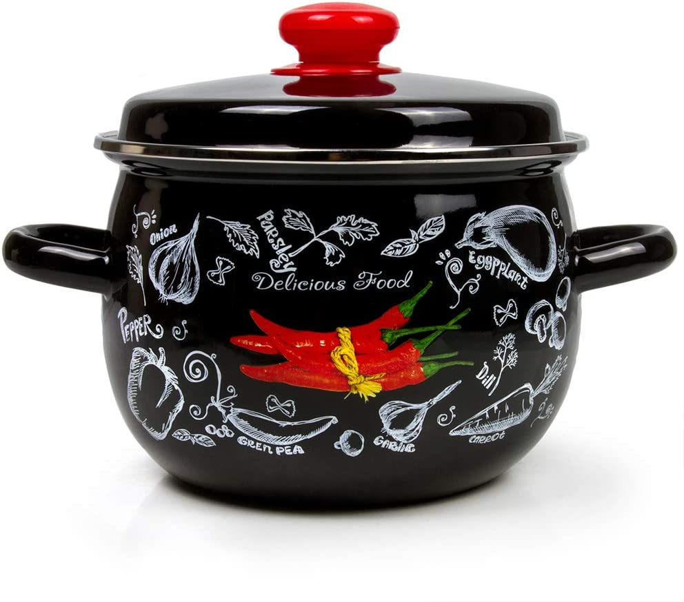 Enamel Cheap super special price Stock Pot Spicy Beauty products with Enamelware Cooking Li