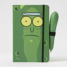 Rick and Morty: Pickle Rick Hardcover Ruled Journal With Pen