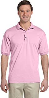 Gildan Adult 6 Oz, 50/50 Jersey Polo - Light Pink - 3XL - (Style # G880 - Original Label)
