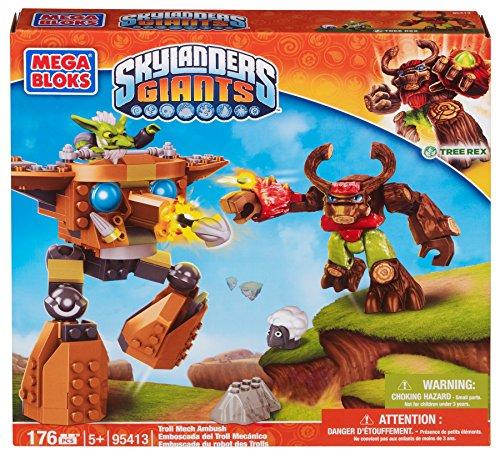 Mega Bloks - Skylanders - Embuscade du robot Troll
