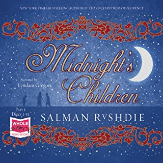 Midnight's Children                   By:                                                                                                                                 Salman Rushdie                               Narrated by:                                                                                                                                 Lyndam Gregory                      Length: 24 hrs and 32 mins     14 ratings     Overall 3.9