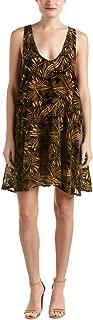 Women's Ellie Velvet Burnout Mini Dress