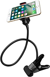 Cellphone Stand Holder, AFUNTA Universal 360 Degree Rotation Flexible Long Arms Gooseneck Lazy Bracket for iPhone iPad GPS...