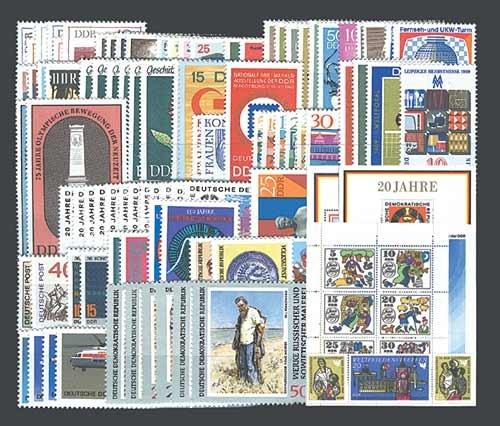 Goldhahn DDR Jahrgang 1969 postfrisch komplett Briefmarken für Sammler