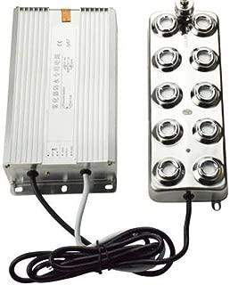 Hengwei 110V 10 Head Ultrasonic Mist Maker Fogger Humidifier Air-Cooled with Waterproof Transformer