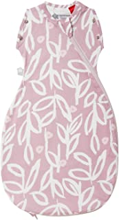 TOMMEE TIPPEE GroBag Baby Snuggle Transition Sleeping Bag 1 Tog, Botanical, 0-4 Months, Bamboo-Rich Fabric with ALOEKIND