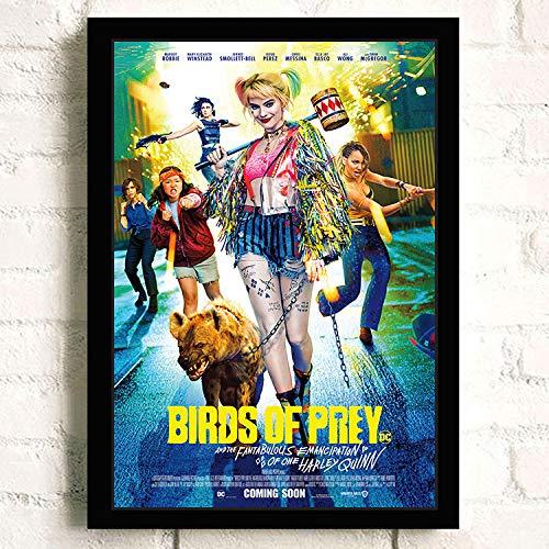 61ZLOYrNp5L Harley Quinn Birds of Prey Posters