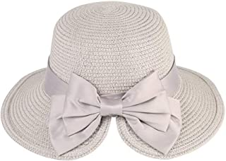 Women's Foldable Sun Hat Straw Hat Fashion with Sunscreen Wide Easy to Match Br