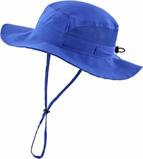 Connectyle Kid's Breathable Beach Play Hat Toddler Boy Sun Hat for Baby UPF 50+