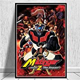 Misszhang Poster and Prints Mazinger Z Infinity Japanese Movie Artwork Paintings Art Canvas Wall Pictures Home Decor S213 Unframed 40X50Cm