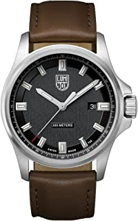 Luminox - Dress Field XL.1831 Reloj de pulsera Cuarzo Hombre correa de Cuero Marrón