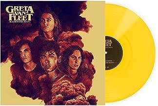 Greta Van Fleet - Black Smoke Rising Exclusive Limited Edition Opaque Yellow Vinyl LP
