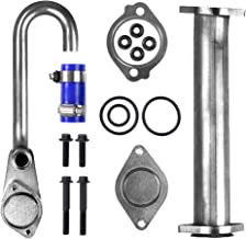6.0 EGR Valve Pipe Kit fits Ford 6.0L Diesel Powerstroke | 03-07 Ford Super Duty F250 F350 F450 F550, 03-05 Ford Excursion, 04-10 Ford E350 E450 | Replace 904-228, 3C3Z6A642CA
