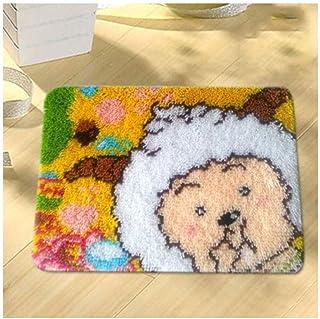 Crochet Loquet Coussin Kit for Adultes Bricolage Needlework Coussin Broderie Crochet Loquet Crochet Coussin Complet Kit de...