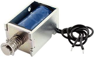 DC12V 3mm 2000g 8mm 1000g Push Type Open Frame Solenoid Electromagnet