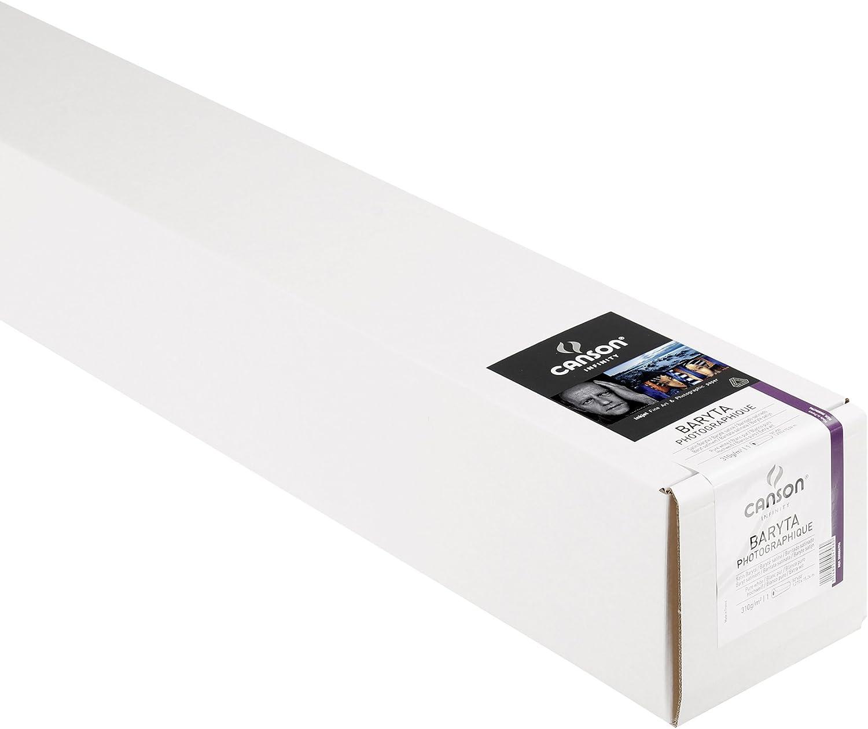 Canson 200004796 Infinity Baryta Photographique Papier, 310 g m², 50 Zoll, 1.270 x 15.24 m, weiß B008HPIXEA      Günstige