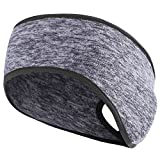 MIFULGOO Women's Ponytail Headband Ear Warmer Head Wrap Yoga Hair Band Running Sweatband...