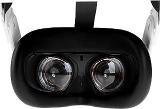 NEWZEROL VR Couvre Visage en Silicone Compatible pour Oculus Quest 2, Coussinets de Remplacement Lavables et Antidérapants...