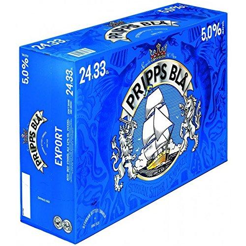 Pripps Bla Export 5,2% 24x0,33 ltr. inkl. Pfand