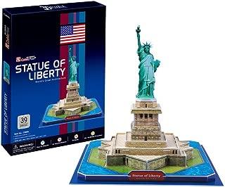 CubicFun C080h Statue of Liberty Puzzle, 39 Pieces