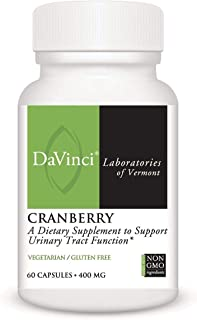 Davinci - Cranberry 400mg, 60 capsules [Health and Beauty]