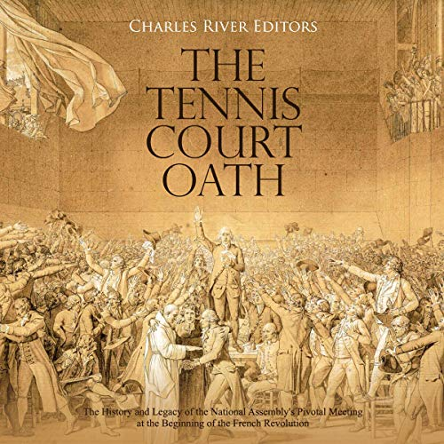 The Tennis Court Oath audiobook cover art