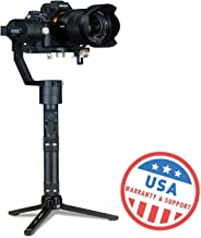 EVO Rage Gen2 3 Axis Gimbal for DSLR & Mirrorless Cameras - Stabilizer Works with Sony A7S II, Panasonic GH4 GH5, and Most Cameras up to 5.5lbs | 1 Year US Warranty & Tech Support (Certified Refurbish