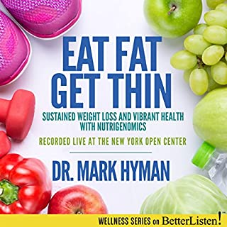 Eat Fat, Get Thin audiobook cover art