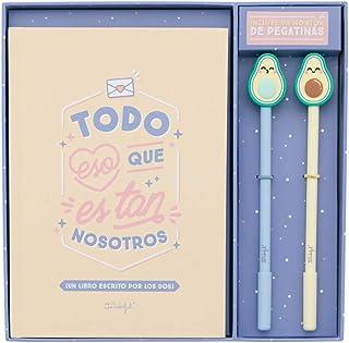 Mr. Wonderful - Set de libro rellenable amor + 2 bolis con forma
