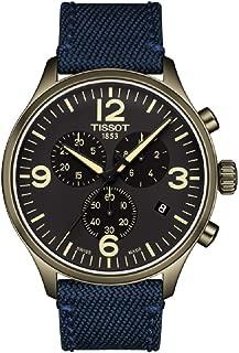 Tissot Men's Chrono XL Blue Fabric Stainless Steel Watch T1166173705701