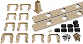 Trex Transcend 91.5 in. Composite Rope Swing Square Baluster Stair Accessory Kit