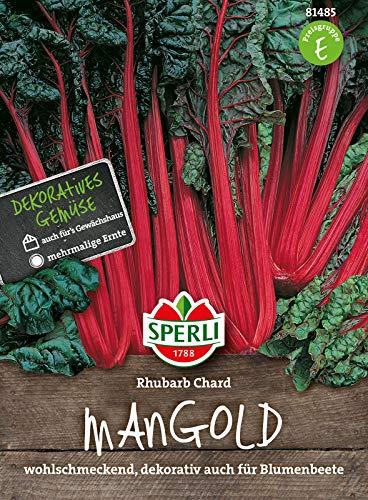81485 Sperli Premium Mangold Samen Rhubarb Chard   Zart   Wohlschmeckend   Mangold Saatgut   Mangold Saat