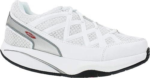 MBT Sport 3, Baskets Basses Femme, Blanc