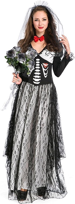 Guolipin Vestito Operato per Adulti Ghost Festival Costume Real Scaliente Zombie Abito da Sposa Htuttioween Gioco Costume Cosplay Costume Uniforme Costume per i Regali delle Donne