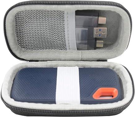 SANVSEN per SanDisk Extreme Portable SSD 1TB / 2TB / 250TB / 500TB Custodia Rigida per Borsa da Viaggio - Trova i prezzi più bassi