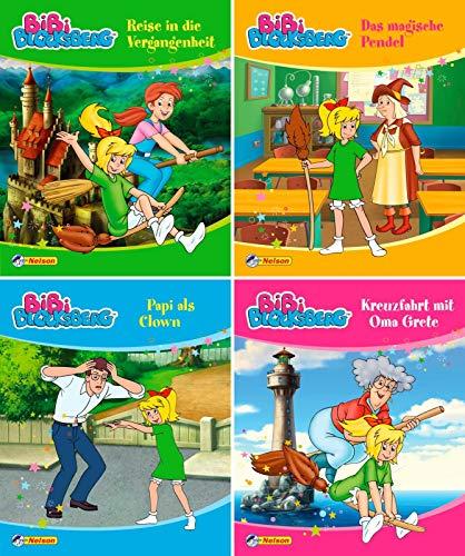 Nelson Mini-Bücher: Bibi Blocksberg 33-36: 24 Mini-Bücher im Display