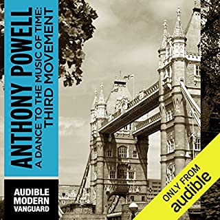 A Dance to the Music of Time: Third Movement                   Written by:                                                                                                                                 Anthony Powell                               Narrated by:                                                                                                                                 Simon Vance                      Length: 19 hrs and 44 mins     1 rating     Overall 5.0