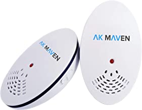 AK MAVEN Pest Control Ultrasonic Repellent Electronic Insect Repellent Indoor Plug in Pest Repeller for Mosquito Mice Cockroach Ant Rat Flea Bug Roach Spider Rodent Repellent 2 Pack