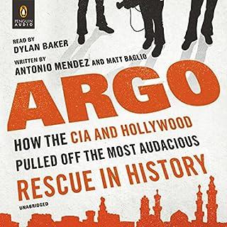 Argo audiobook cover art