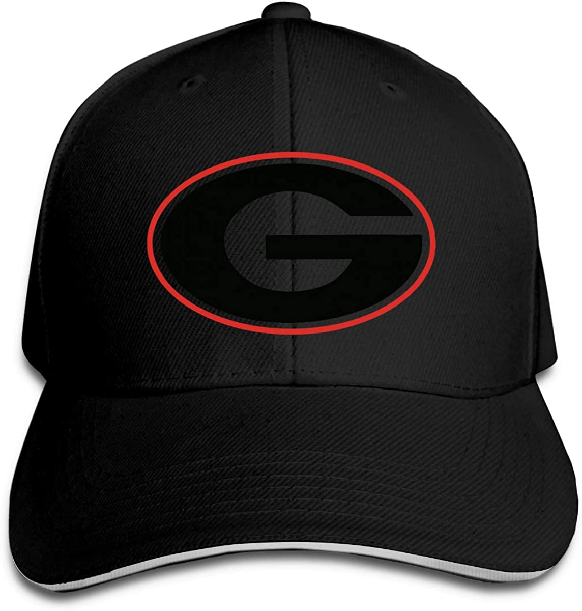 Georgia Bulldog Fit Women Men Professional Baseball Hat Baseball Cap