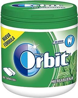 Orbit Bote - Chicle Sin Azúcar 60 Grágeas, Hierbabuena, Pack de 6