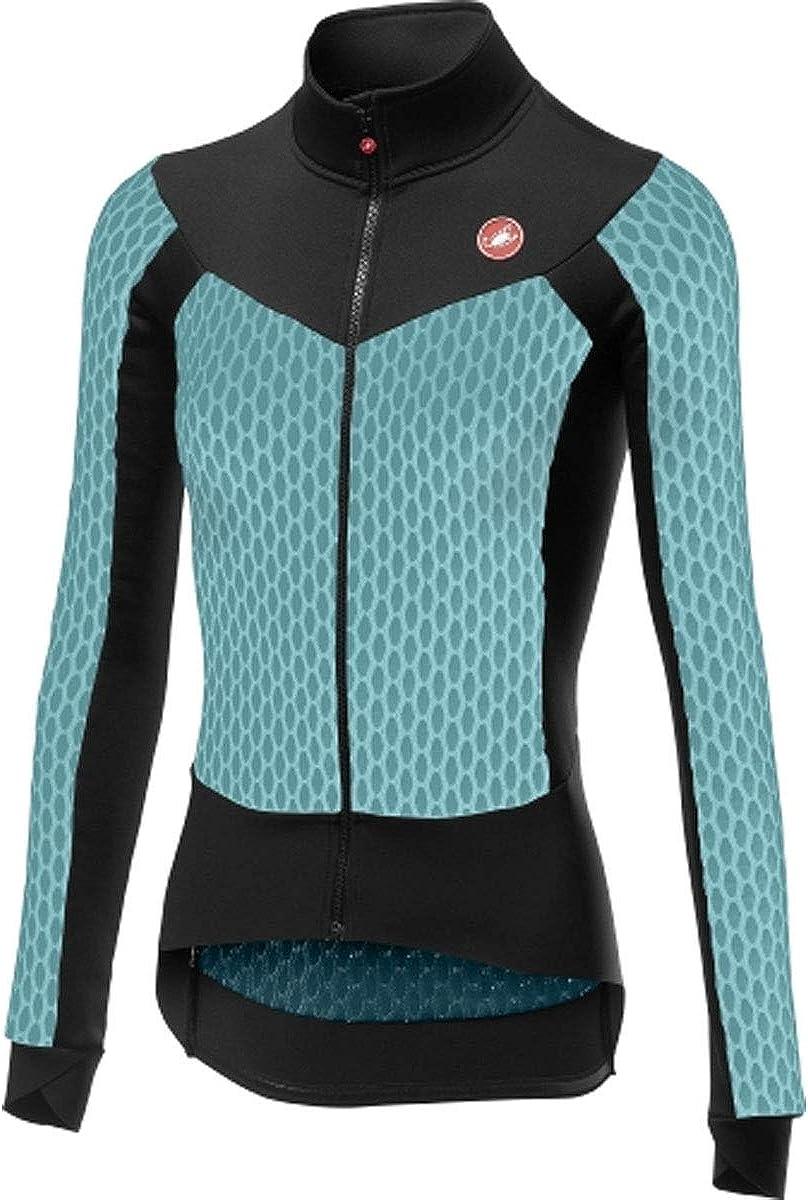 Castelli Womans Sfida Long-Sleeve Full-Zip Jersey
