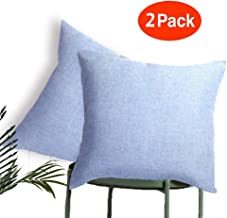 MRNIU Decorative 2 Pack Coastal Pillow Covers Decorative Pillows Throw Pillow Covers Outdoor Pillows Cushion Cover Pillow Covers 18 x 18 inches
